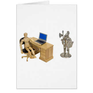 JobSecurity112409 Greeting Card