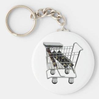 JobShopping032309-2 Keychain