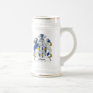 Jobson Family Crest Coffee Mug