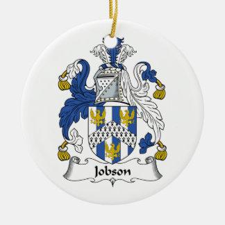 Jobson Family Crest Ornament