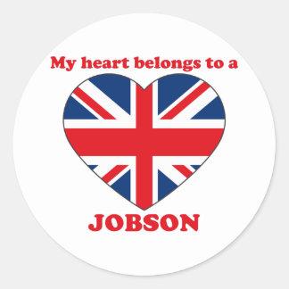 Jobson Round Sticker