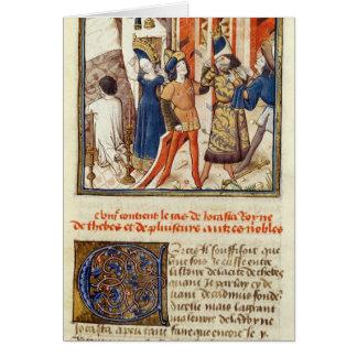 Jocasta, reina de Thebes Felicitación