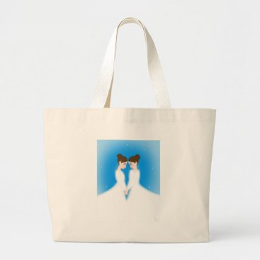 jasmineflynn Jocelyn and Jasmine Large Tote Bag