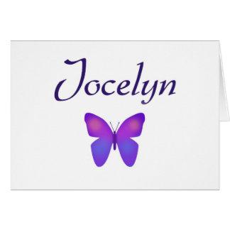 Jocelyn Tarjeta De Felicitación