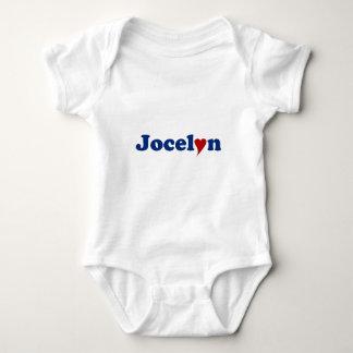 Jocelyn with Heart Baby Bodysuit