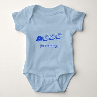 Jock, (in training) baby bodysuit