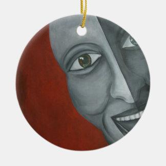 Jocker face ornament