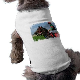 Jockey and Horse Pet Shirt
