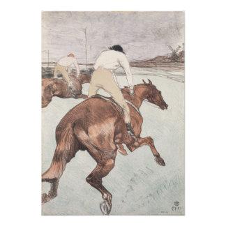 Jockey by Henri de Toulouse-Lautrec Photograph