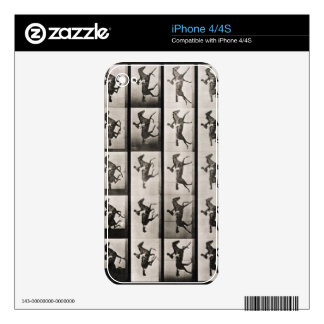Jockey on a galloping horse, plate 627 from 'Anima iPhone 4S Decals