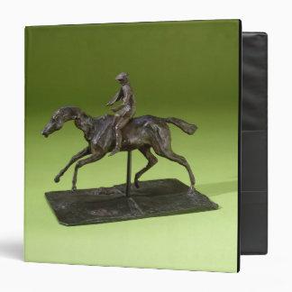 Jockey on a Horse bronze Binders