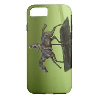 Jockey on a Horse (bronze) iPhone 7 Case