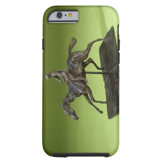 Jockey on a Horse (bronze) Tough iPhone 6 Case