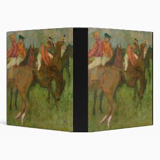 Jockeys 1886-90 vinyl binder