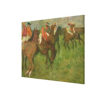 Jockeys, 1886-90 canvas print