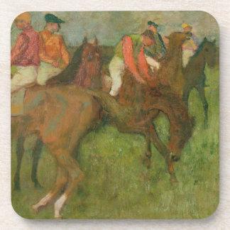 Jockeys, 1886-90 beverage coasters