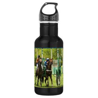 Jockeys at the Starting Gate 18oz Water Bottle