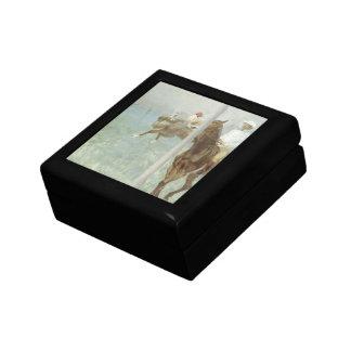 Jockeys Before the Race by Edgar Degas Gift Box
