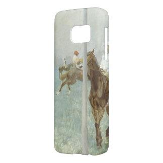 Jockeys Before the Race by Edgar Degas Samsung Galaxy S7 Case