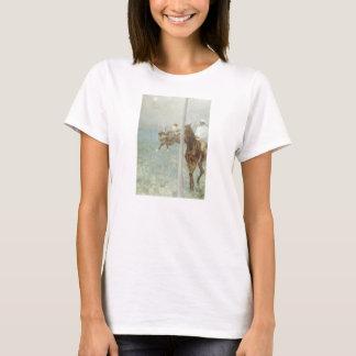 Jockeys Before the Race by Edgar Degas T-Shirt