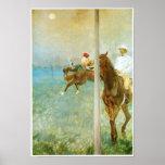 Jockeys Before the Race, Degas Print