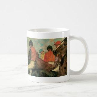 Jockeys by Degas Coffee Mug