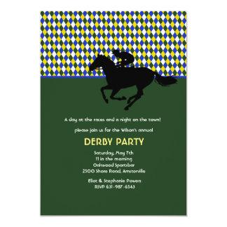 Jockey's Pride Yellow Invitation