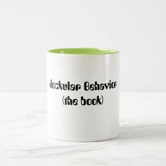 Jockular Behavior (the book) Two-Tone Coffee Mug