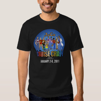 JoCo Cruise Crazy! Updated, front only T Shirt