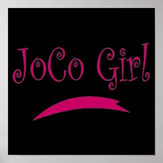 JOCO GIRL POSTER