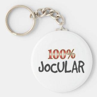 Jocular 100 Percent Keychain
