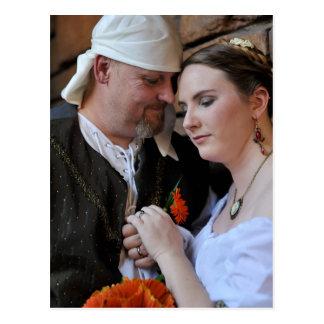 Jody and Kimber  wedding post card