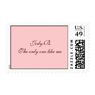 Jody.B.The only one like me Stamps
