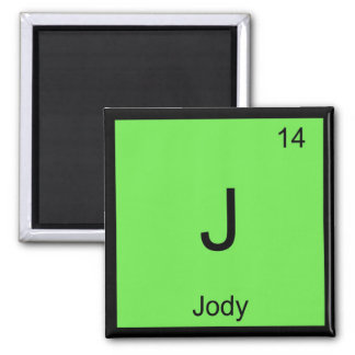Jody Name Chemistry Element Periodic Table Refrigerator Magnet