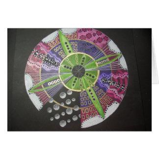 Jody's Mandala #1 Card