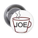 Joe 2 Inch Round Button
