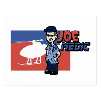 Joe Air Ambulance Postcard