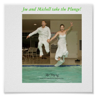 joe and michell take the plunge, Joe and Michel... Poster