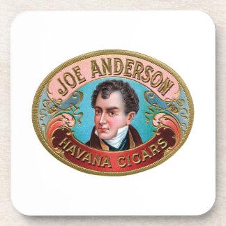 Joe Anderson Havana Cigars Coasters