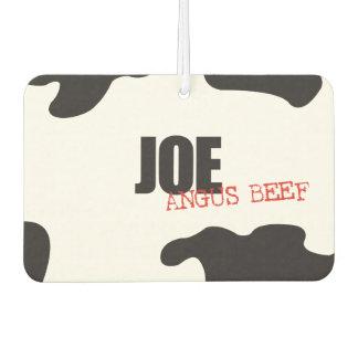 """Joe """"Angus Beef"""" Trendy Air Freshener"""