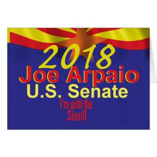 Joe ARPAIO AZ 2018 Card