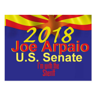 Joe ARPAIO AZ 2018 Postcard