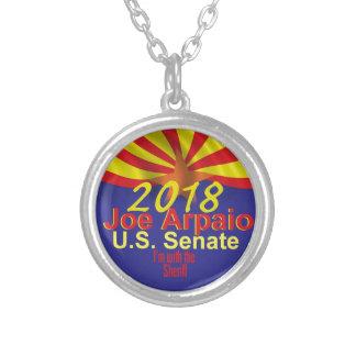 Joe ARPAIO AZ 2018 Silver Plated Necklace
