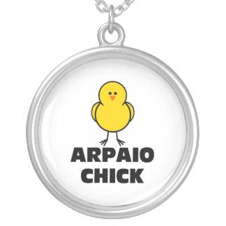 Joe Arpaio Chick Round Pendant Necklace