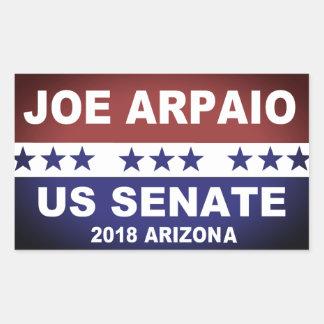 Joe Arpaio US Senate 2018 Arizona Rectangular Sticker