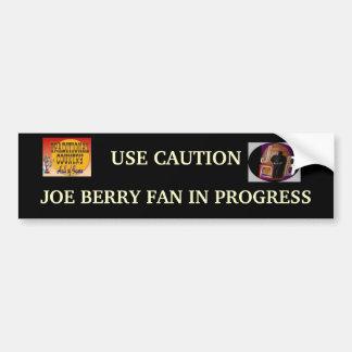 JOE BERRY FAN Bumper Sticker