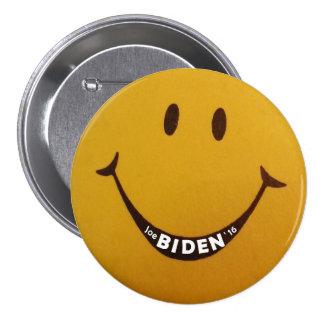Joe Biden '16 Pin Redondo De 3 Pulgadas