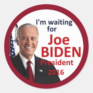 Joe BIDEN 2016 Classic Round Sticker