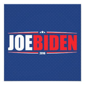 Joe Biden 2016 (estrellas y rayas - azul) Fotografia