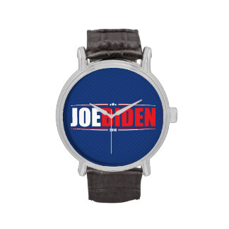 Joe Biden 2016 (estrellas y rayas - azul) Relojes De Mano